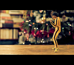 Bruce Lee, The Game of Death photo by Zed The Dragon