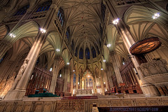 Inside Saint Patricks Cathedral - NYC photo by Jason Pierce Photography