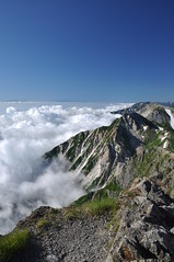 Mt.Shirouma with sea of clouds !! #3 -雲海@白馬岳- photo by mukarin