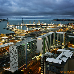 Auckland, New Zealand photo by Ed Kruger
