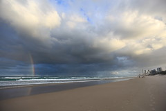 27 / 365 - Rainbow on Main Beach (Explore) photo by welle23