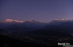 Sarangkot, Nepal - Annapurna Range photo by GlobeTrotter 2000