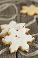 Snowflake cookies photo by vanilllaph
