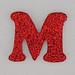 Christmas Sparkle letter M