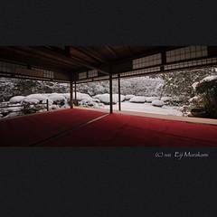 詩仙堂 雪景 photo by Eiji Murakami