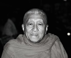 ChiangMai Buddhist Monks - #6 - the oldest monk photo by gregjack!