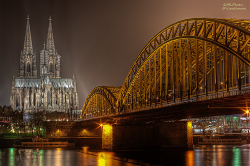 The Cologne cathedral with 50mm photo by ©Markus Landsmann - markuslandsmann.zenfolio.com