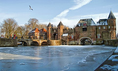 De koppelpoort, in de winter van 2012. photo by Wouter van Wijngaarden