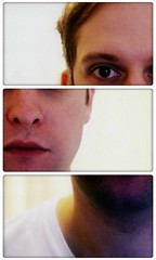 Triptych self-portrait photo by _chrisUK