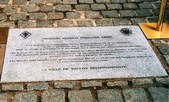25 juin 2003- Plaque Victor Mirkin - Toulon - Fonds Pierre Tropet