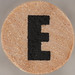 studio g Stamp Set Block Letter E