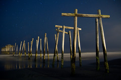 Pier at Night No Rockets :( photo by Steve Maciejewski