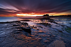 Dawn Long Exposure, Bamburgh Castle photo by mark_mullen