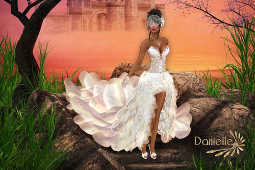 DANIELLE London White Bridal