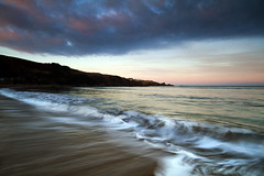 Coldingham Sunset photo by Simon Halstead Photography