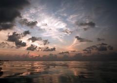 Diving Maldives: Sunset photo by Mal B