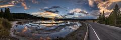 Great Fountain Geyser, Yellowstone National Park HDR Panorama photo by Brandon Kopp