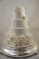 Kacie - Wedding Cake photo by Designer Cakes By Effie