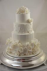 Kacie - Wedding Cake photo by Designer Cakes By Effie