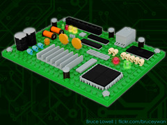 LEGO Circuit Board photo by bruceywan