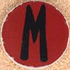 Cardboard Letter M