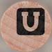 studio g Stamp Set Reverse Letter U