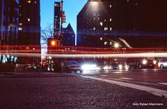City night lights photo by Rafakoy