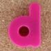 Magnetic letter d