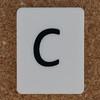 Tile Letter c