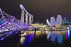 Singapore - I light Marina Bay 2012 Garden of Light photo by Wang Guowen (gw.wang)