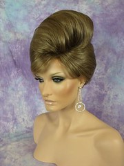 Brown And Blonde Mix Classic French Twist Up-Do photo by mgwigs4u