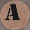 studio g Stamp Set Stencil Letter A