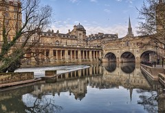 Pulteney Bridge, Bath photo by Nige H (1.2 million views. Thank you)