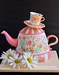 Teapot cake photo by anna savenko (sVeshti4ka)