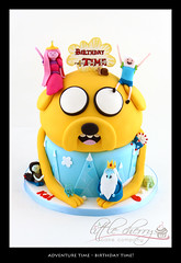 Adventure Time Cake (Birthday Time!) photo by Little Cherry Cake Company