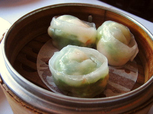 snow pea leaf dumplings