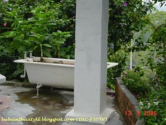 bc - bala house outdoor bathtub