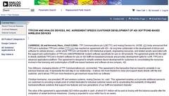 TTPCom_and_ADI_Agreement_speeds_wireless_devices