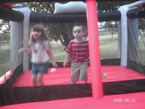 Kids in the Bounce Around
