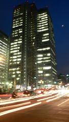 Nakano-sakaue at night
