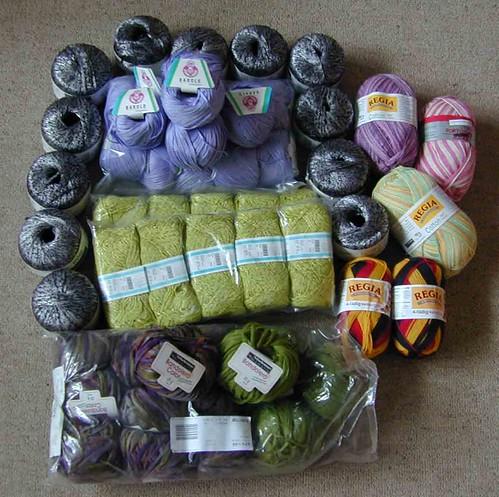Yarn purchase