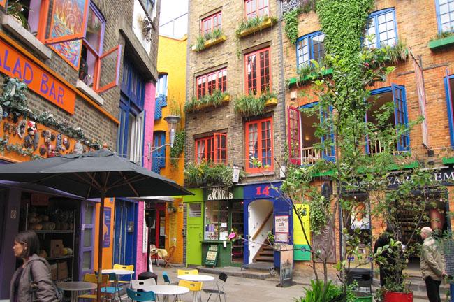 Alegría en las calles: Neal's Yard