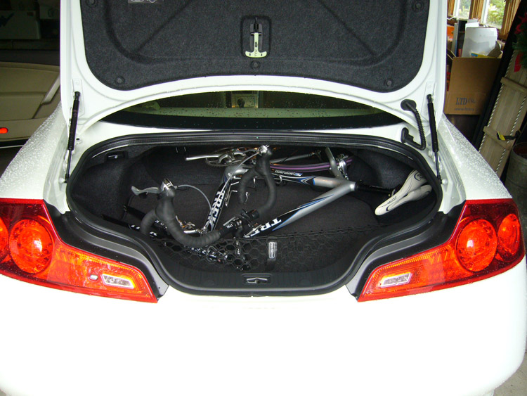 Will A Bike Fit In The Trunk Bike Forums