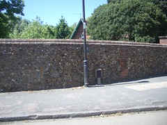 Stone wall in Cambridge