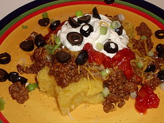 Taco'd Corn Cakes