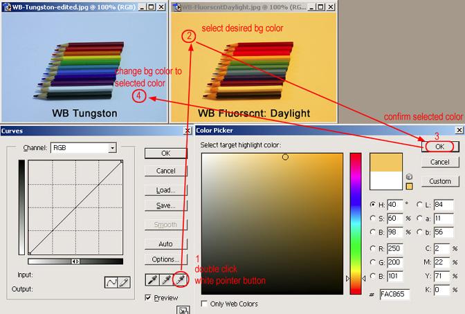 [後製] Photoshop曲線-色彩調整基礎篇