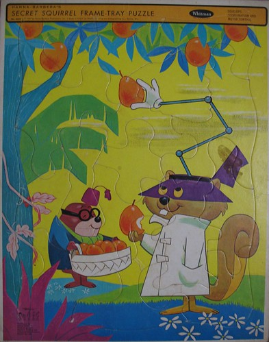secret squirrel puzzle