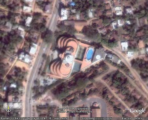 Infosys Mangalore - from Google Earth