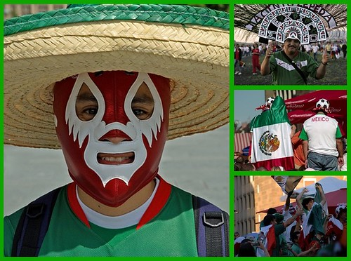 Mexican fans rock