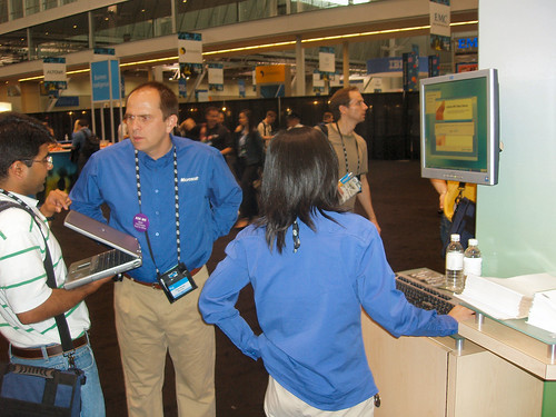 The Office TLC at TechEd 2006